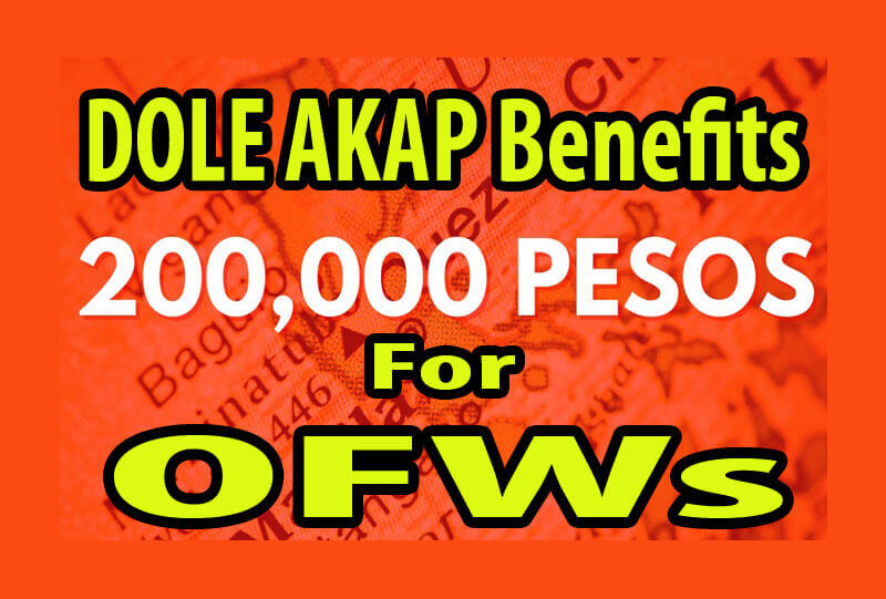 P 200,000 For OFW DOLE AKAP Fortune Fund