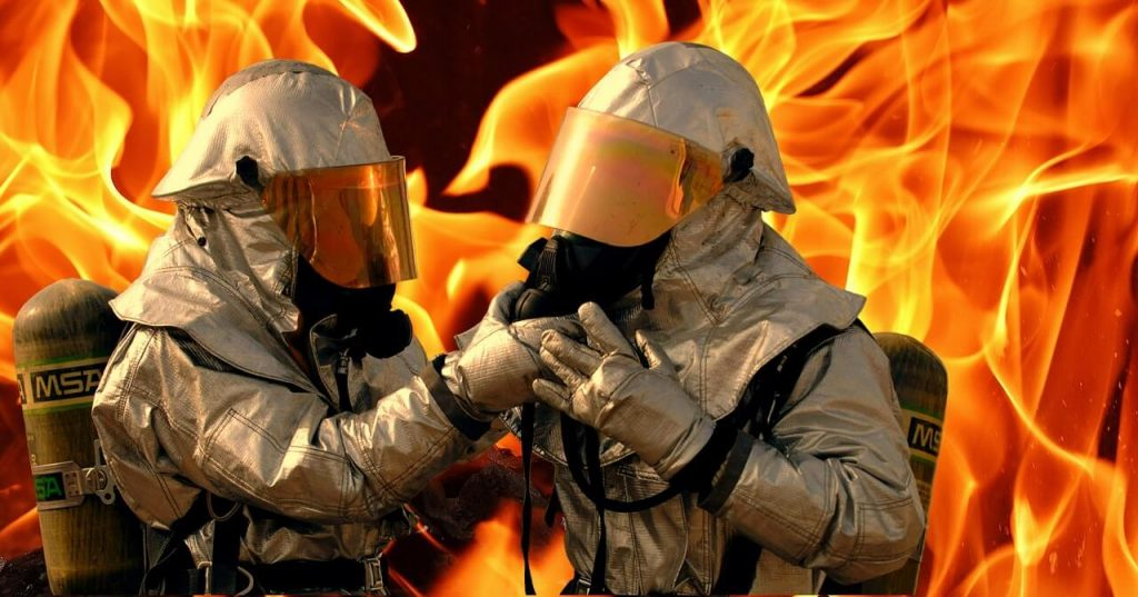 Firefighters are at a higher risk to asbestos exposure